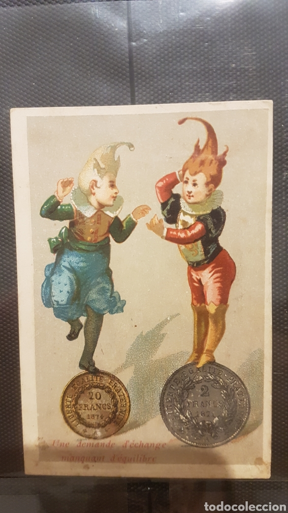 Postales: Lote 3 cromos confiteria y comestibles leandro gusell - Foto 4 - 194245782