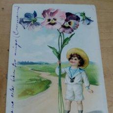 Postales: TARJETA POSTAL PUBLICITARIA LA FORTUNA CHOCOLATES EXQUISITOS 14X9,5 CM.. Lote 194312606
