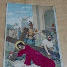 Postales: POSTAL PUBLICITARIA ROPA BLANCA Y CAMISERÍA MERINO Y NAVAS MADRID IMAGEN BORDADA. Lote 194313431