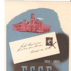 Postales: POSTAL PUBLICITARIA, EXPO CONMEMORATIVA DEL SELLO ESPAÑOL, MADRID 1950, SIN CIRCULAR. Lote 194340876