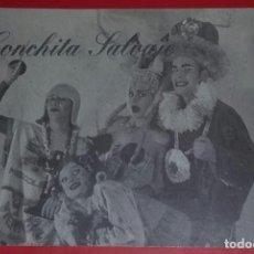 Postales: CONCHITA SALVAJE. EX KATALITICAS. PRESENTACIÓN SHOW VIDAS EJEMPLARES (EL REGRESO).. Lote 194522580