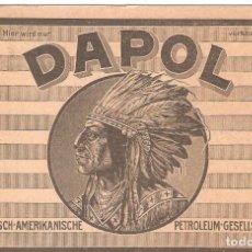 Postales: POSTAL PUBLICITARIA, DAPOL PETROLEOS, DEUTSCH-AMERIKANISCHE PETROLEUM-GESELTSCHAFT, SIN CIRCULAR. Lote 194524373