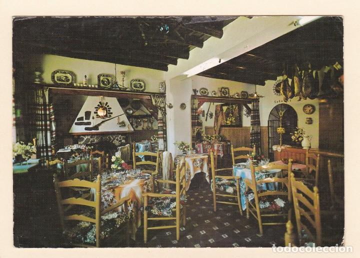 POSTAL RESTAURANTE CASAS, JUNTO A LA GRUTA DE LAS MARAVILLAS. ARACENA. HUELVA (1967) (Postales - Postales Temáticas - Publicitarias)