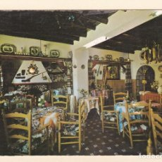 Postales: POSTAL RESTAURANTE CASAS, JUNTO A LA GRUTA DE LAS MARAVILLAS. ARACENA. HUELVA (1967). Lote 194533411