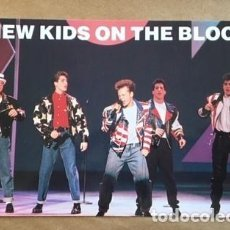 Postales: POSTAL GRUPO MUSICAL NEW KIDS ON THE BLOCK, MANCHESTER, ENGLAND. Lote 194577240