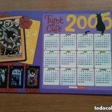 Postales: TAROT CAFE. POSTAL. EDICIONES LA CUPULA. CALENDARIO 2005. Lote 194698445