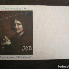 Postales: PUBLICIDAD PAPEL DE FUMAR JOB-ILUSTRADA POR DUVOCELLE-POSTAL ANTIGUA-REVERSO SIN DIVIDIR-(67.895). Lote 194728395