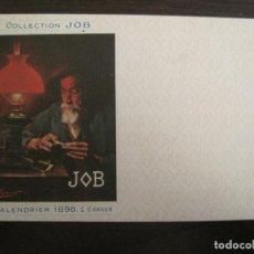 Postales: PUBLICIDAD PAPEL DE FUMAR JOB-ILUSTRADA POR L. GRANER-POSTAL ANTIGUA-REVERSO SIN DIVIDIR-(67.896). Lote 194728435