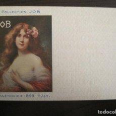 Postales: PUBLICIDAD PAPEL DE FUMAR JOB-ILUSTRADA POR A.ASTI-POSTAL ANTIGUA-REVERSO SIN DIVIDIR-(67.897). Lote 194728525