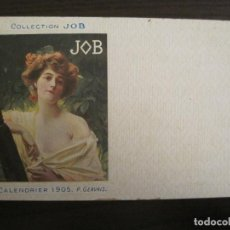 Postales: PUBLICIDAD PAPEL DE FUMAR JOB-ILUSTRADA POR P.GERVAIS-POSTAL ANTIGUA-REVERSO SIN DIVIDIR-(67.899). Lote 194728781