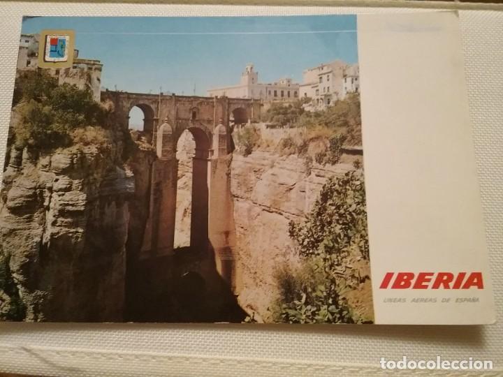 Postales: 7 postales publicitarias de Iberia - Foto 2 - 194885732