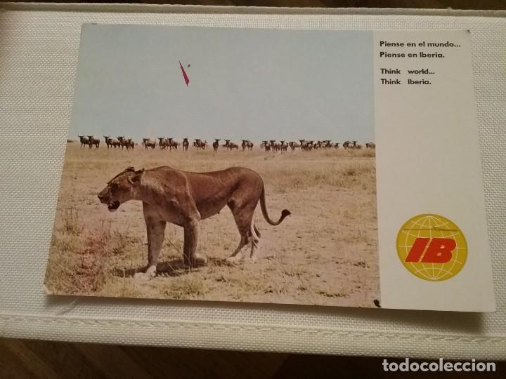 Postales: 7 postales publicitarias de Iberia - Foto 6 - 194885732