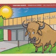 Postales: POSTAL MUSEO DE ALTAMIRA. CANTABRIA - HORARIOS JULIO Y AGOSTO 2010. Lote 194902003