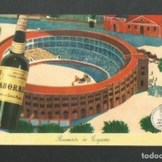 Postales: POSTAL PUBLICITARIA SIN CIRCULAR OBSBORNE - JEREZ DE LA FRONTERA - CADIZ. Lote 194928438