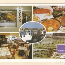 Postales: POSTAL RESTAURANTE A SOLAINA. O GROVE. PONTEVEDRA - POSTALES FAMA. Lote 194976126