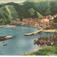 Postales: POSTAL ONDARROA (VIZCAYA), VISTA GENERAL - 1962 - LABORATORIO AMOR GIL, FARMACEUTICA. Lote 194987971