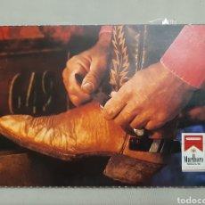 Postales: POSTAL PUBLICITARIA TABACO MARLBORO MEDIUN. Lote 195150880