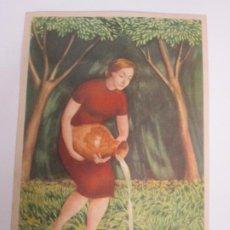 Postales: TARJETA PUBLICITARIA NOVURIT - FARMACIA, MEDICO - PROMESA, PRODUCTOS MEDICINALES. Lote 195158475