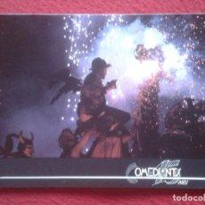 Postales: POSTAL POST CARD COMPAÑÍA DE TEATRO TEATRAL BARCELONA COMEDIANTS 15 ANYS 1987 GENERALITAT CATALUNYA. Lote 195200372