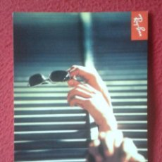 Postales: POSTAL POST CARD PUBLICIDAD GAFAS DE SOL ? GLASSES LUNETTES RAY-BAN TILL THE END ADVERTISING.....VER. Lote 195207326