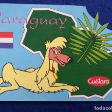 Postales: POSTAL PUBLICIDAD DE LAS GALLETAS CUÉTARA - PARAGUAY - TELEVISION ESPAÑOLA. Lote 195214113