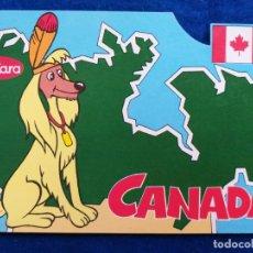 Postales: POSTAL PUBLICIDAD DE LAS GALLETAS CUÉTARA - CANADÁ - TELEVISION ESPAÑOLA. Lote 195214361