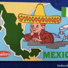 Postales: POSTAL PUBLICIDAD DE LAS GALLETAS MÉXICO - CANADÁ - TELEVISION ESPAÑOLA. Lote 195214522