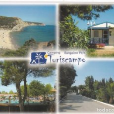 Postales: POSTAL CAMPING TURISCAMPO. ESPICHE. LUZ. LAGOS. ALGARVE (PORTUGAL). Lote 195237015