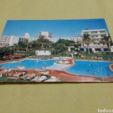 Postales: POSTAL MÁLAGA (COSTA DEL SOL) HOTEL SIROCO. Lote 195239736