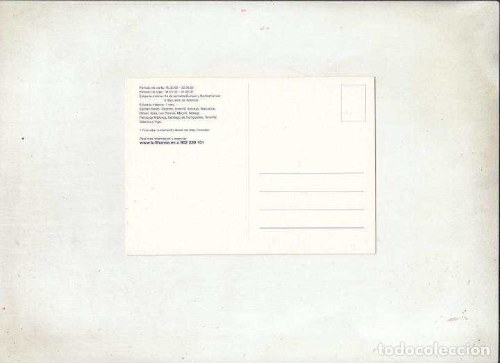 Postales: POSTAL LUFTHANSA. - Foto 2 - 195328832