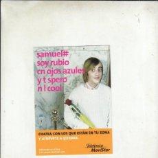 Postales: POSTALFREE. POSTAL TELEFONICA MOVISTAR.. Lote 195329761