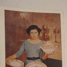 Postales: ANTIGUA POSTAL PUBLICITARIA.FABRICA DE LOZA.CARTUJA DE SEVILLA.FERIA DE MUESTRAS.GRAFICAS DEL SUR.. Lote 195333648