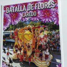 Postales: BATALLA DE FLORES LAREDO CORREOS. Lote 195397950