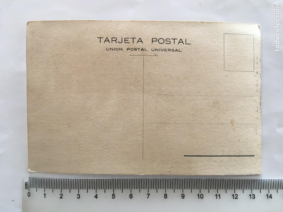Postales: POSTAL PUBLICITARIA. IMPERMEABLES INGLESES MARCA EL GALLO. CONCESIÓN. PACAREU, SERIÑA Y VALLS. BARCE - Foto 2 - 195462245