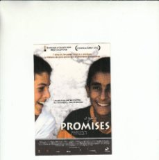 Postales: POSTALFREE. POSTAL PROMISES. JUSTINE SHAPIRO. B.Z. GOLDBERG Y CARLOS BOLADO.. Lote 195506252