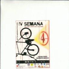 Postales: POSTALFREE. POSTAL IV SEMANA DE CINE CORTO DE LEGANES. CENTRO CIVICO RIGOBERTA MENCHU.. Lote 195508088