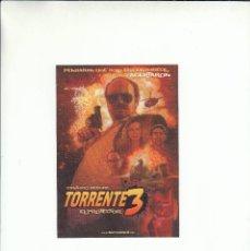 Postales: POSTAL TORRENTE 3 EL PROTECTOR. SANTIAGO SEGURA. ESTRENO 30 DE SEPTIEMBRE 2005.. Lote 195508891