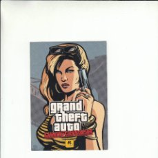 Postales: POSTAL GRAND THEFT AUTO. LIBERTY CITY STORIES.. Lote 195510100