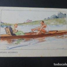 Postales: DEPORTES MODERNOS POSTAL HEMOSTYL PUBLICIDAD AÑOS 20. Lote 196287821