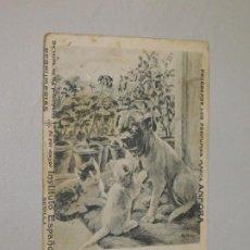 Postales: POSTAL, PERFUMES ÁNFORA, SEVILLA, PRINCIPIO SIGLO XX. INF. 2 FOTOS. Lote 197875063