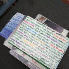 Postales: POSTALES PUBLICITARIAS, LOTE DE MÁS DE 200. Lote 199276691
