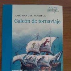 Postales: POSTAL COLECCION VALKENBURG. LIBRO GALEON DE TORNAVIAJE. JOSE MANUEL PARRILLA.. Lote 201656648
