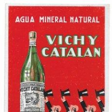 Postales: VICHY CATALÁN - AGUA MINERAL NATURAL - CALDES DE MALAVELLA - PB. Lote 202337563