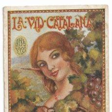 Postales: LA VID CATALANA - 1923 - PUBLICACIÓN DEL GREMIO DE TABERNEROS - PB. Lote 202340022