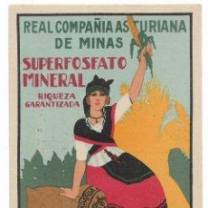 Postales: REAL COMPAÑÍA ASTURIANA DE MINAS - ASTURIAS - PB. Lote 202340377