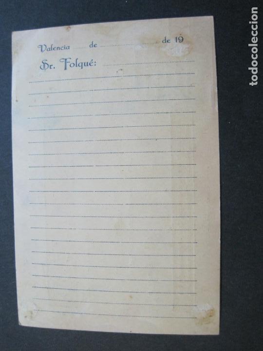 Postales: J.FOLQUE-BARCELONA-POSTAL PUBLICIDAD-FUNDICION TIPOGRAFICA-VER FOTOS-(69.188) - Foto 5 - 202348128