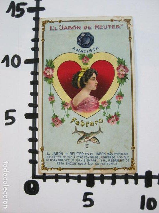 Postales: JABON DE REUTER-AMATISTA-TARJETA PUBLICIDAD ANTIGUA-VER FOTOS-(69.193) - Foto 6 - 202351170