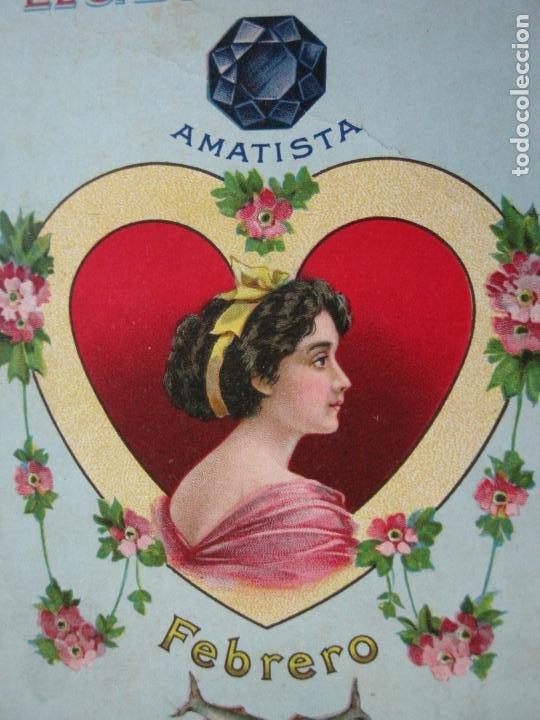 JABON DE REUTER-AMATISTA-TARJETA PUBLICIDAD ANTIGUA-VER FOTOS-(69.193) (Postales - Postales Temáticas - Publicitarias)