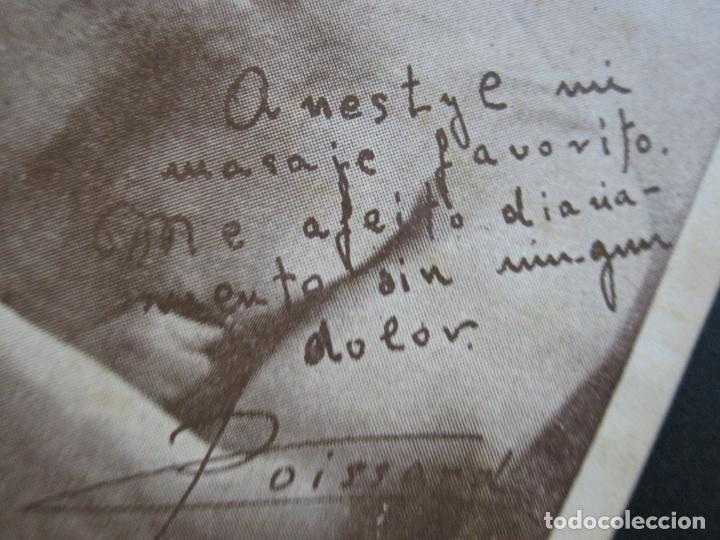Postales: M. POISSARD-TARJETA DE PUBLICIDAD FARMACIA ANESTYL-VER FOTOS-(69.198) - Foto 3 - 202353695