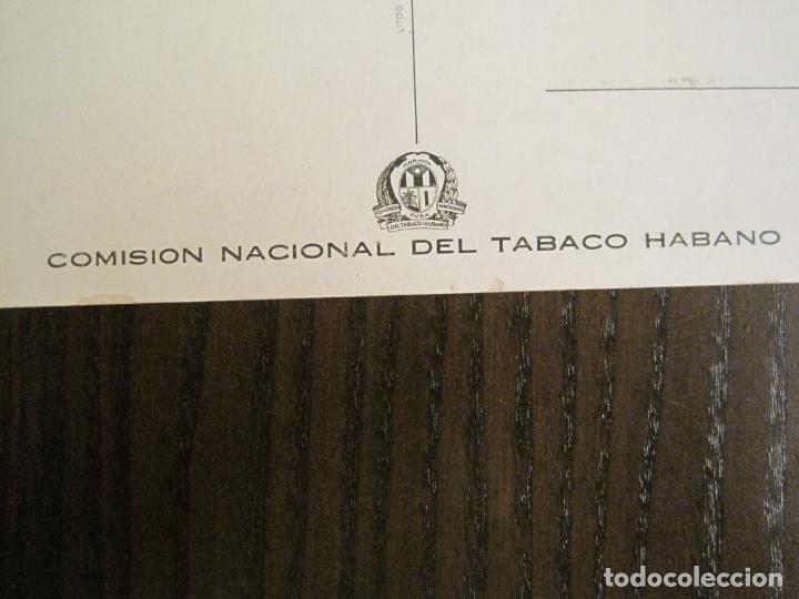 Postales: LA REINA DEL TABACO-MINISTERIO AGRICULTURA-LA HABANA-CUBA-POSTAL PUBLICIDAD ANTIGUA-(69.010) - Foto 5 - 202597411